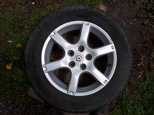 Nissan Rims and Tires