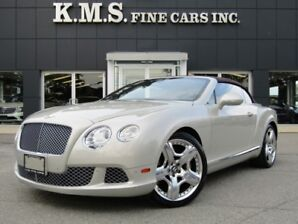 2012 Bentley Continental GT CONVERTIBLE| MULLINER PKG| NAIM SOUND