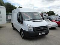 2011 Ford Transit 2.2 TDCi 280 SWB MR Van. Only 42,000 miles. 1 owner FSH.