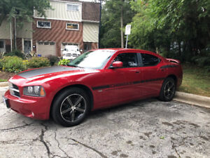 2010 Dodge Charger DEEP RED 2 SETS OF RIMS INCLUDED - SAFETIED