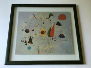 Tableau de Miro avec encadrement