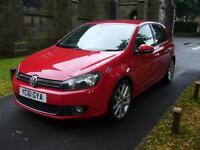 2011 Volkswagen Golf 2.0 TDi 140 GT 5dr DSG 5 door Hatchback