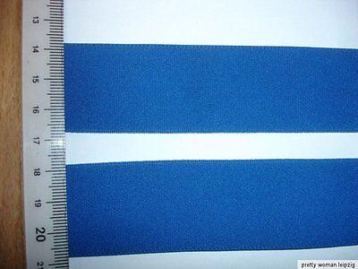 10m Gummiband 0,38€/m blau 30mm breit MN58