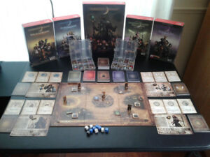 Darkest Night + 4 Expansions Co-op Board Game