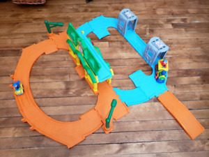 Sesame Street toddler train track
