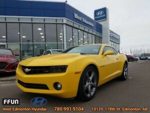 2013 Chevrolet Camaro 2LT  6 seed manual leather sunroof bluetoo