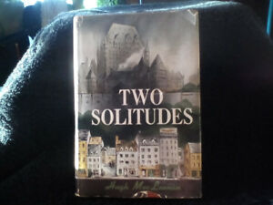Rare 1st edition Two Solitudes hardcover book