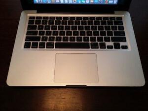 MacBook Pro 13'' (Late 2011) | i7 | 16 GB RAM | 750 GB HD