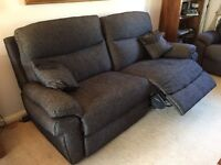 A pair of brand new 3 seater La-Z-boy sofas.