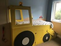 Yellow Digger Bed