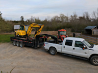 Excavating, hardscaping, top soil grading,driveway,culverts, etc