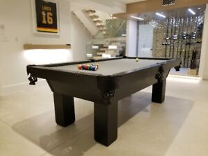 Custom pool table, locally made in Maple Ridge, BC