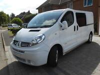 Renault Trafic LWB Van Conversion. 2 Berth with 5 Seat Belts. Very Low Mileage.