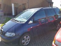Repairable Seat Alhambra 130TDI - needs a new turbo.