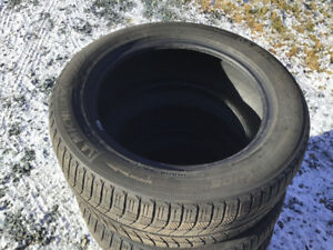 4  tires for sale Michelin x -ice  winter tires 225/55R17