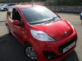 2013 PEUGEOT 107 ACTIVE ONLY 15625 MILES FROM NEW HATCHBACK PETROL