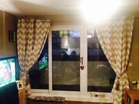 Brand new curtains 90x90