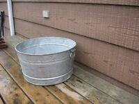 aluminum bucket or basin (in Stratford)