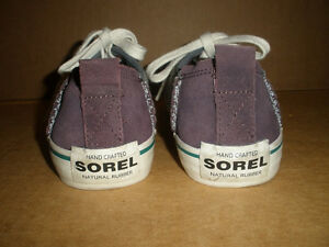 SOREL Gray & Brown Insulated Sneakers Size 7 London Ontario image 4