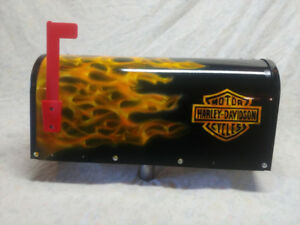 Airbrushed Mailboxes