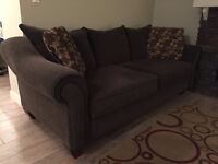 Reese Chenille Sofa - For Sale 250 OBO