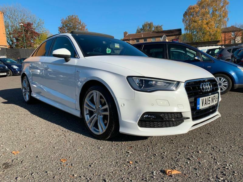 2015 AUDI A3 1.6 TDI SALOON S TRONIC S LINE *ONLY 30000 ...