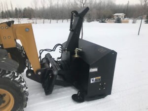 New TMG Snowblower for Skid Steer or Tractor