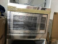 Integrated microwave oven - Brand new
