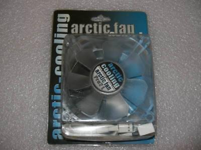 Arctic Fan Pro2 L 80x80x34,5mm, 1500 - 2500 U/min, Lichtfarbe blau - 5 Min Fan