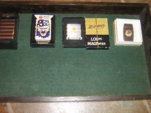 collection zippo-briquet-loupe-canif