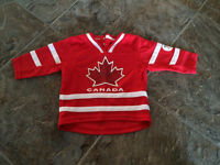 Canada jersey size 12M