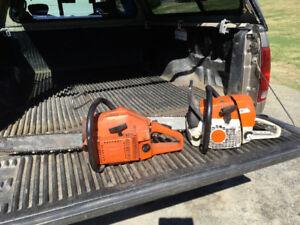 Scie à chaîne (chain saw) à vendre