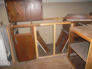 Free cupboards, 8 ft uppers and lowers