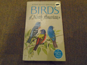 livre  d oiseaux / birds  North America ,to field identification