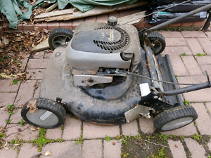 Free lawn mower for parts