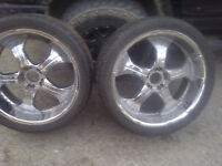 24 inch rim and tire