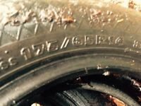 2 - 175-65-r14 tires