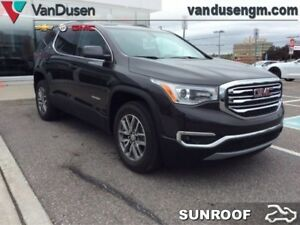 2018 GMC Acadia SLE  - Sunroof - IntelliLink - $305.36 B/W