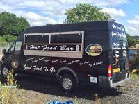 Ford transit catering van
