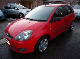 FORD FIESTA 1.4 zetec climate 2006 Petrol Manual in Red