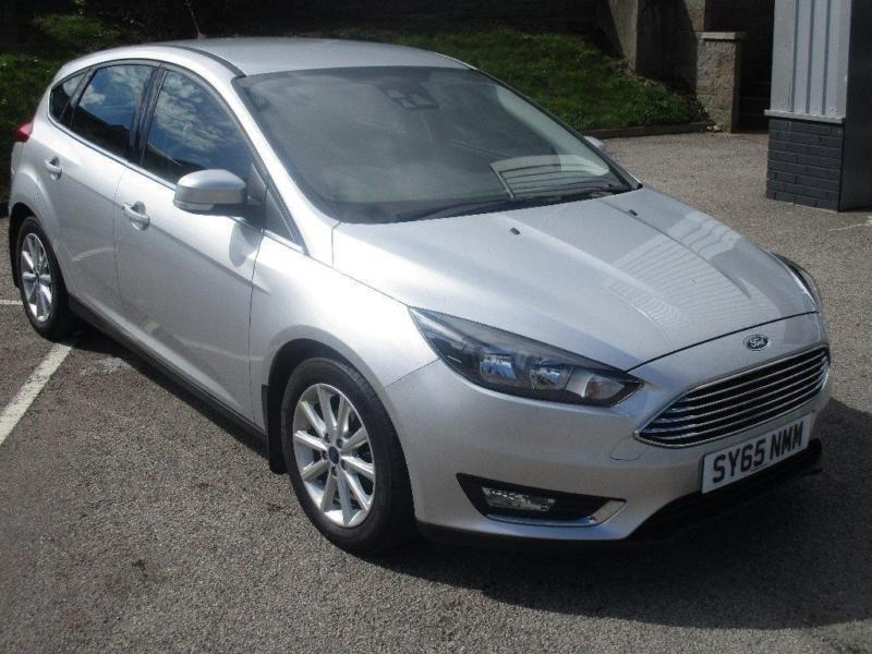 2015 Ford Focus 1.5 TDCi Titanium 5dr (start/stop) Diesel silver Manual