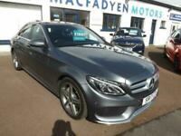 2017 Mercedes-Benz C-CLASS 2.1 C 220 D AMG LINE PREMIUM 4d 170 BHP Saloon Diesel