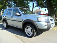 LAND ROVER FREELANDER 2.0 TD4 AUTO 2006 HSE COMPLETE WITH M.O.T HPI CLEAR INC