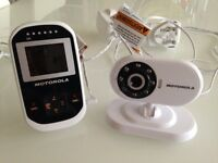 Motorola camera baby monitor for sale.