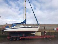 33ft tri axle Boat trailer 5.4 tonne rib cabin cruiser