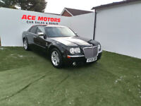 2008 CHRYSLER 300C 3.0 CRD V6 AUTOMATIC TURBO DIESEL SALOON,ONLY 96000 MILES