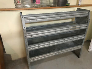 Commercial Van shelving available