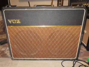 1964 Vox AC30 (vintage) Trade: Fender CS, Swart, Marshall, etc.