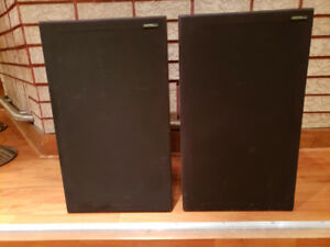Rare vintage Rotel RL810 four way stereo speakers