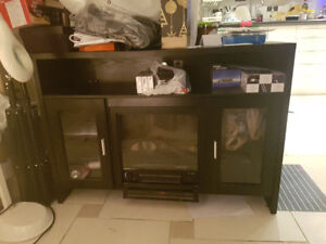 Electric fire place heater